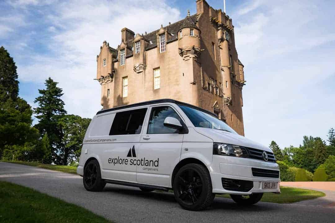 , Explore Scotland Campervans