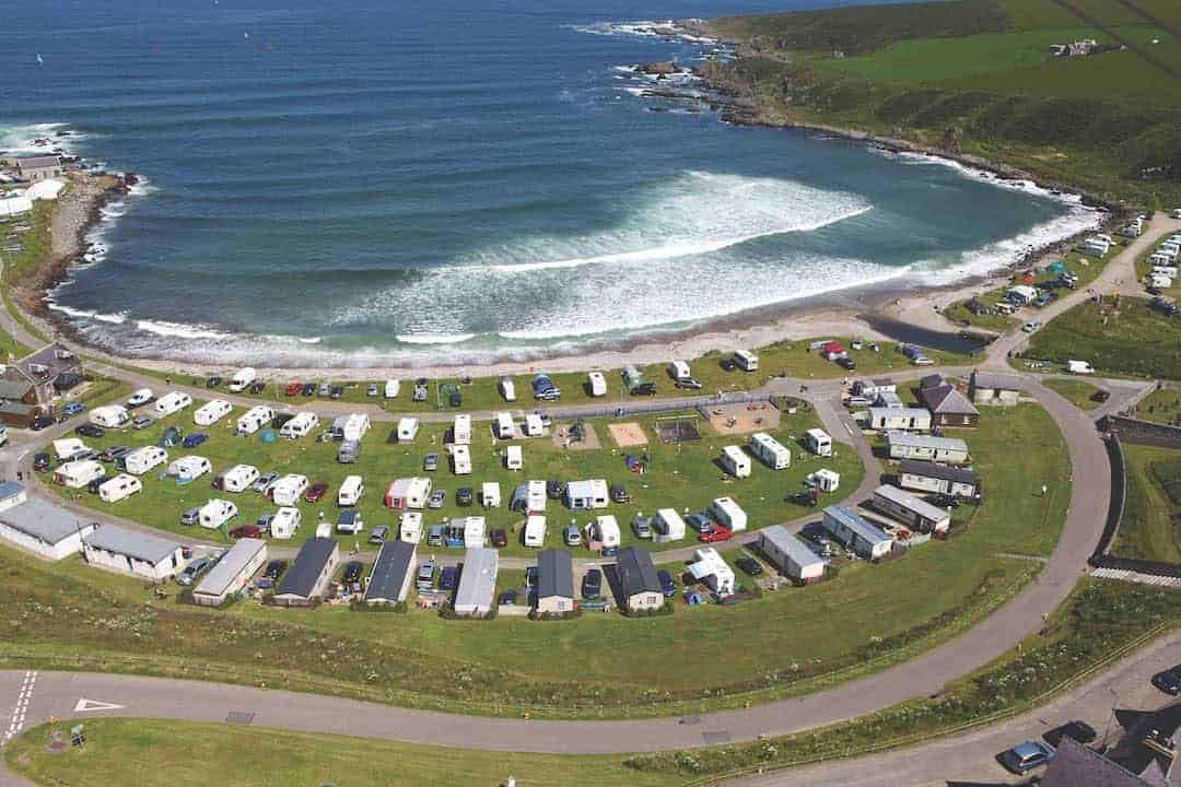 , Portsoy Links Caravan Park