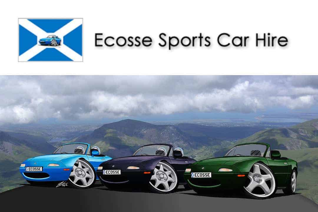 MX5 Car Hire Elgin