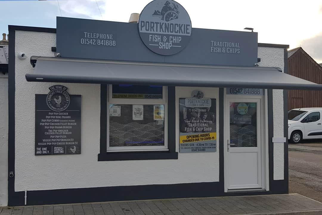 , Portknockie Fish & Chip Shop
