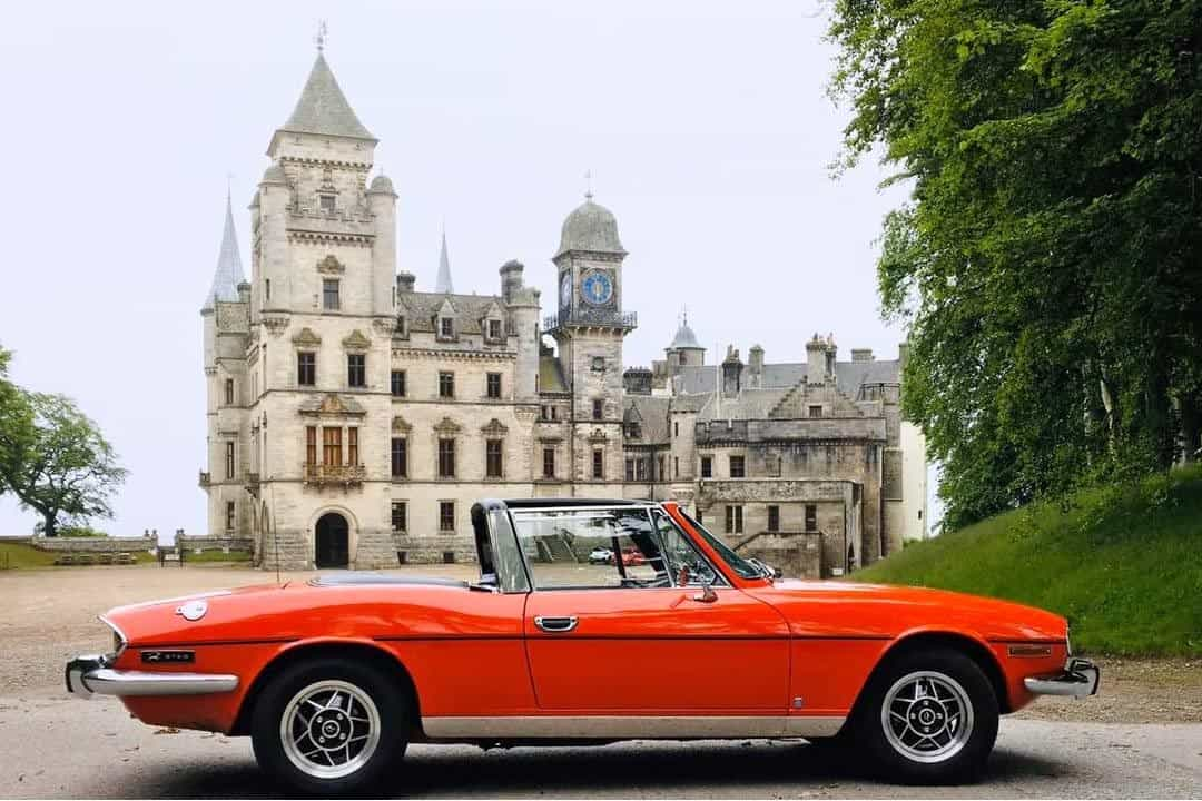 Highland classic car hire
